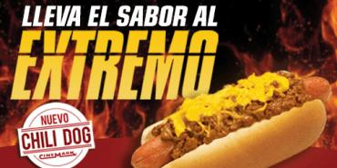 CHILI DOG xtreme flavor on CINEMARK THEATERS