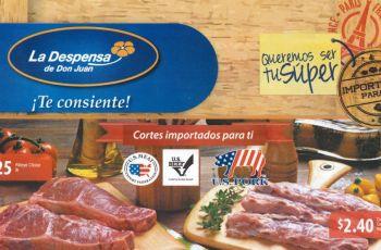 Cortes de carnes importadas US BEEF US PORK US MEAT