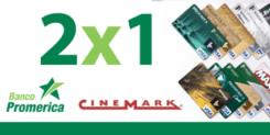 Credit CARD banco promerica el salvador cinemark theater 2x1