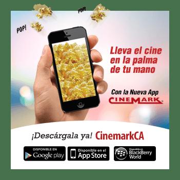 Descargar app CINEMARK el salvador