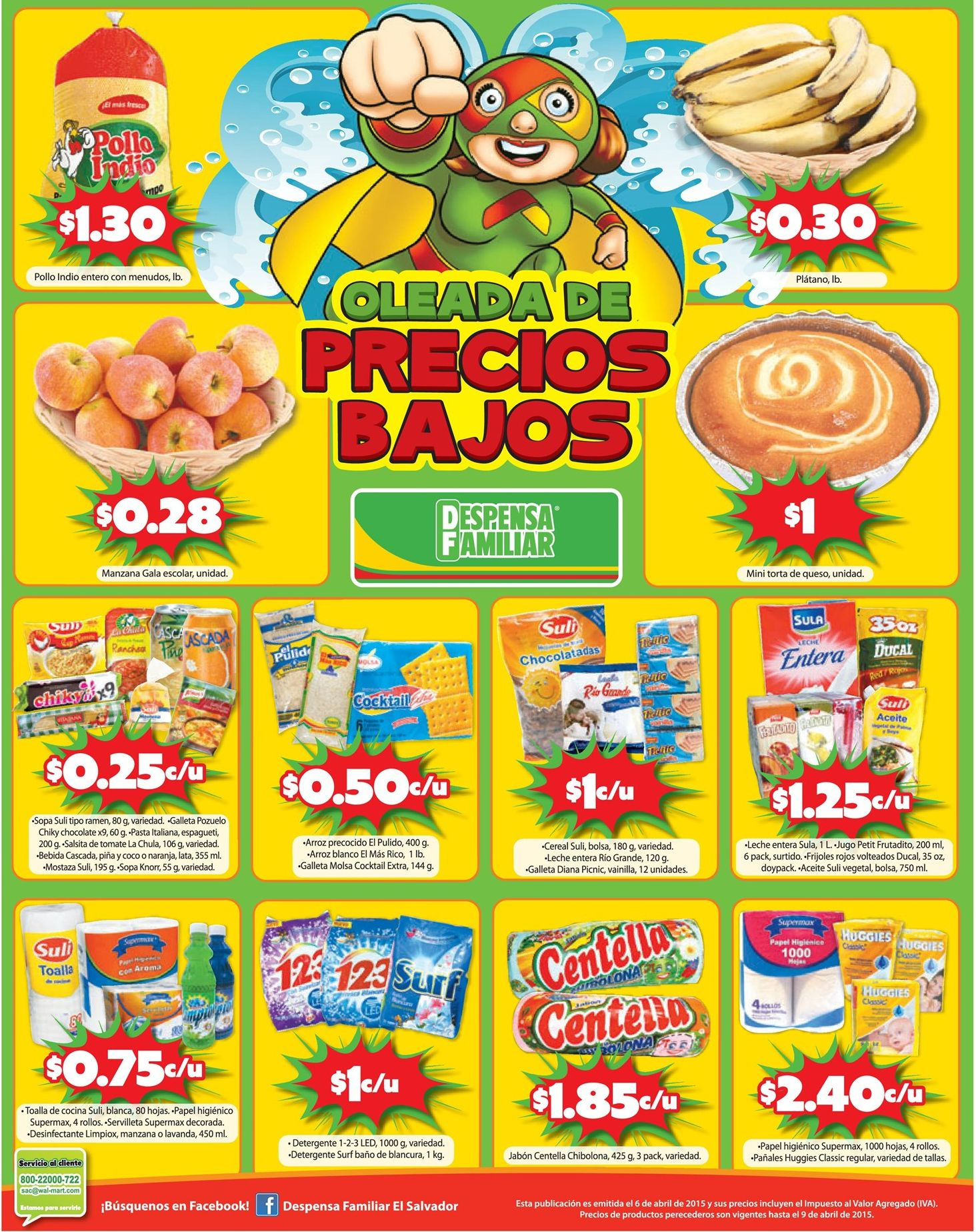 Despensa familiar ofertas de hoy - 06abr15