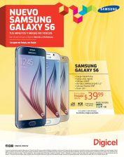 Digicel samsung galaxy s6 PLAN POSPAGO desde 39.99 dolares