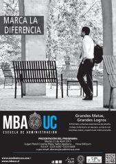 Estudiar maestria en administracion de empresas en CHILE