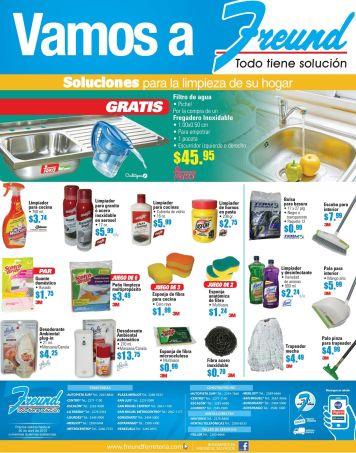 FREUND Venta de productos para limpieza de su hogar y cocina - 10abr15