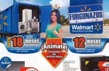 Guia de ofertas FURGONAZOS elsalvador walmart abril 2015