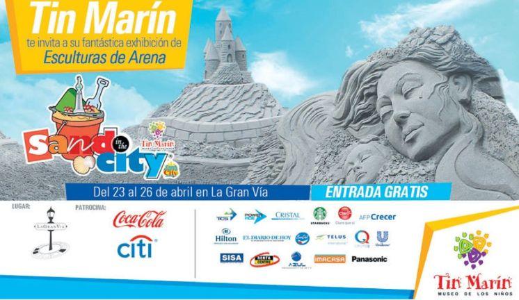 La GranVia presenta SAND in the CITY for kids entrada GRATIS
