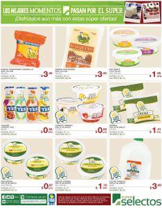 Lacteos en promociones pra tu mesa SUPER SELECTOS - 25abr15