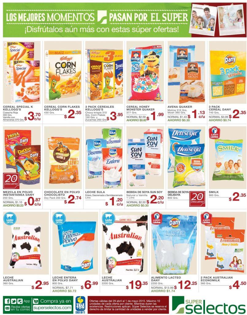 Leche con Cereal ideal para tu desayuno - 29abr15