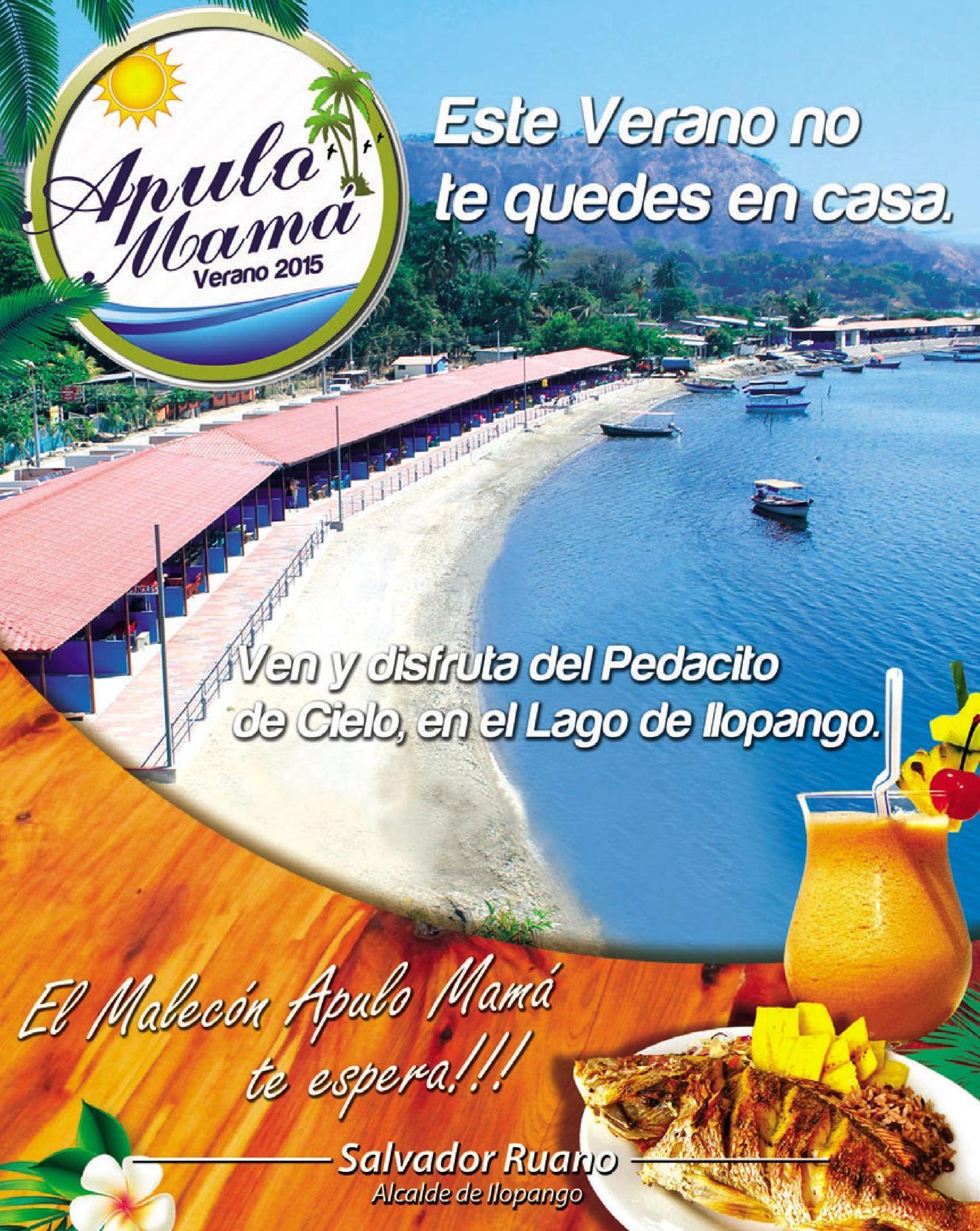 Malecon APULO lago de ilopango verano 2015