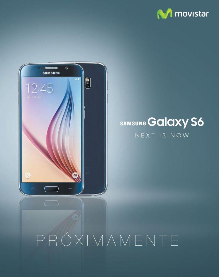 Movistar tendra pronto SAMSUNG Galaxy S6