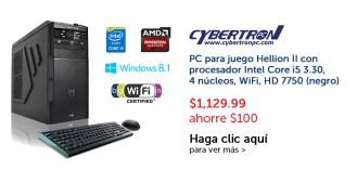 PC for gamers CYBERTRON promocion pricesmart el salvador