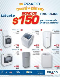 PRADO ofertas en electrodomesticos para el dia de las madres - 23abr15