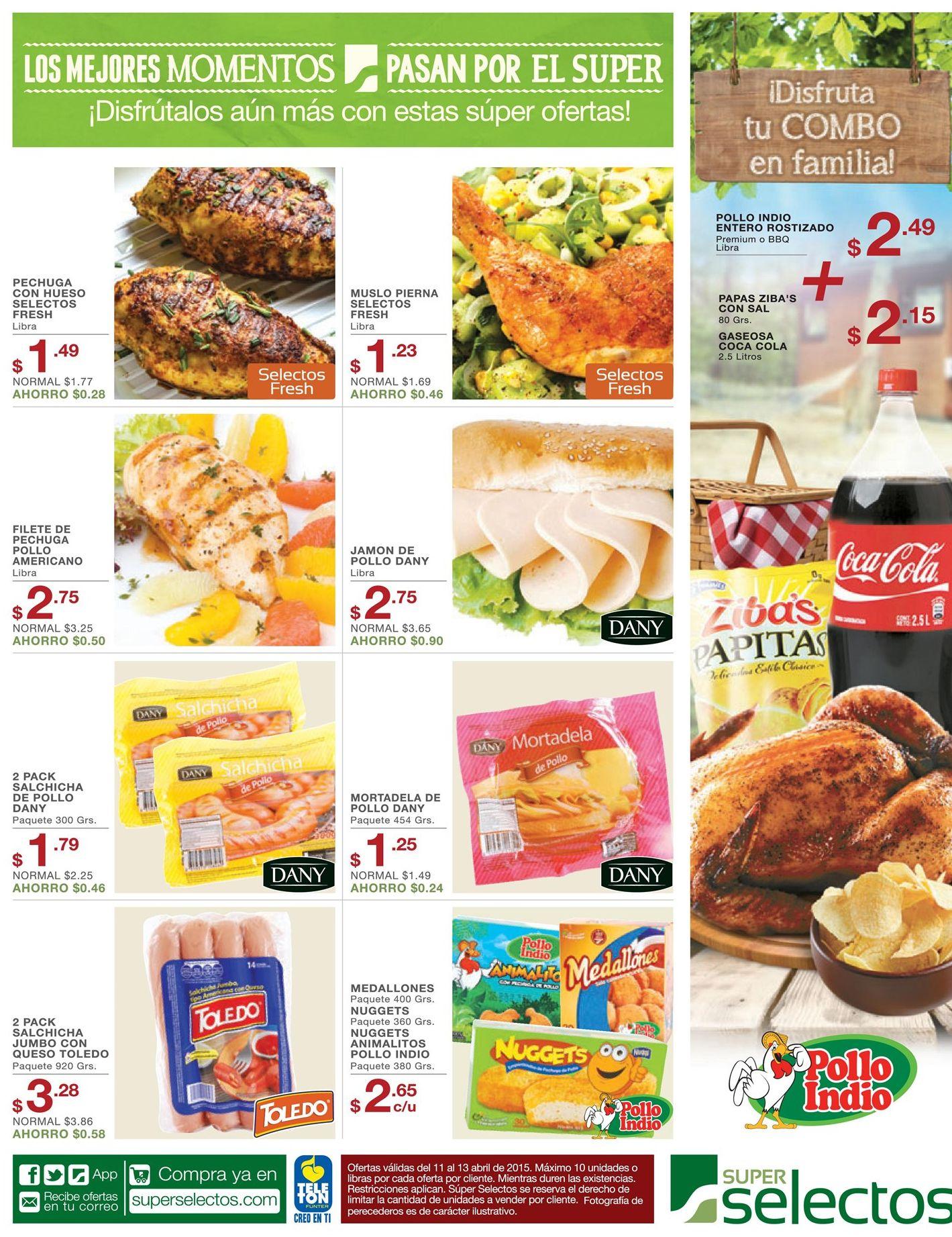 Pollo rostizado para almorzar en familia este fin de semana - 11abr15