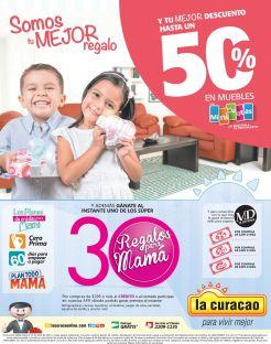 Promocion 30 regalos para MAMA gracias a la CURACAO el salvador
