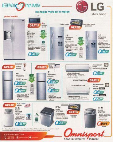 Refrigerradoras y Lavadoras Tu hogar se lo merece regalos para MAMA - 23abr15