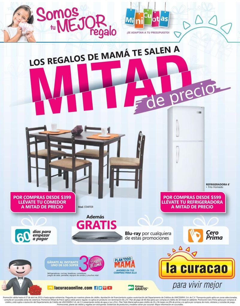Regalos para MAMA a mitad de precio shopping LA CURACAO - 22abr15