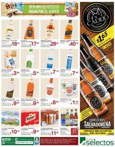 Ron flor de caña VODKA whisky cerveras nacionales - 03abr15