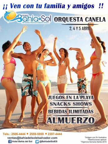 SEMANA SANTA eventos Hotel Bahia del Sol all suites and beach resort