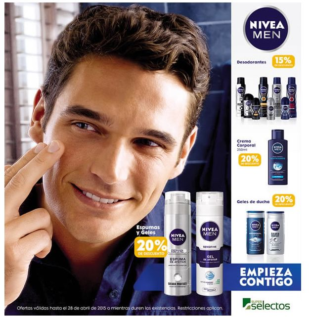 Super Selectos ofertas NIVEA for mem products discounts