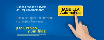 Taquilla automatica CINEPOLIS