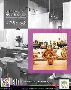 Tienda 3 PUNTOS ideas for every space en MULTIPLAZA