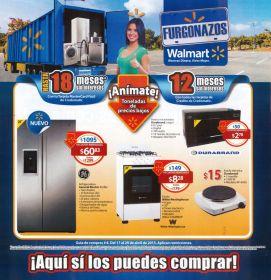 Todos los enseres electricos WALMART furgonazos ofertas - Abril 2015