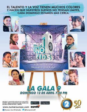 VOTA por tu favorito esta semana numero uno KIDS la gala 9