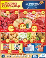 ahorro y ofertas en los Miercoles frescos de la despensa - 29abr15