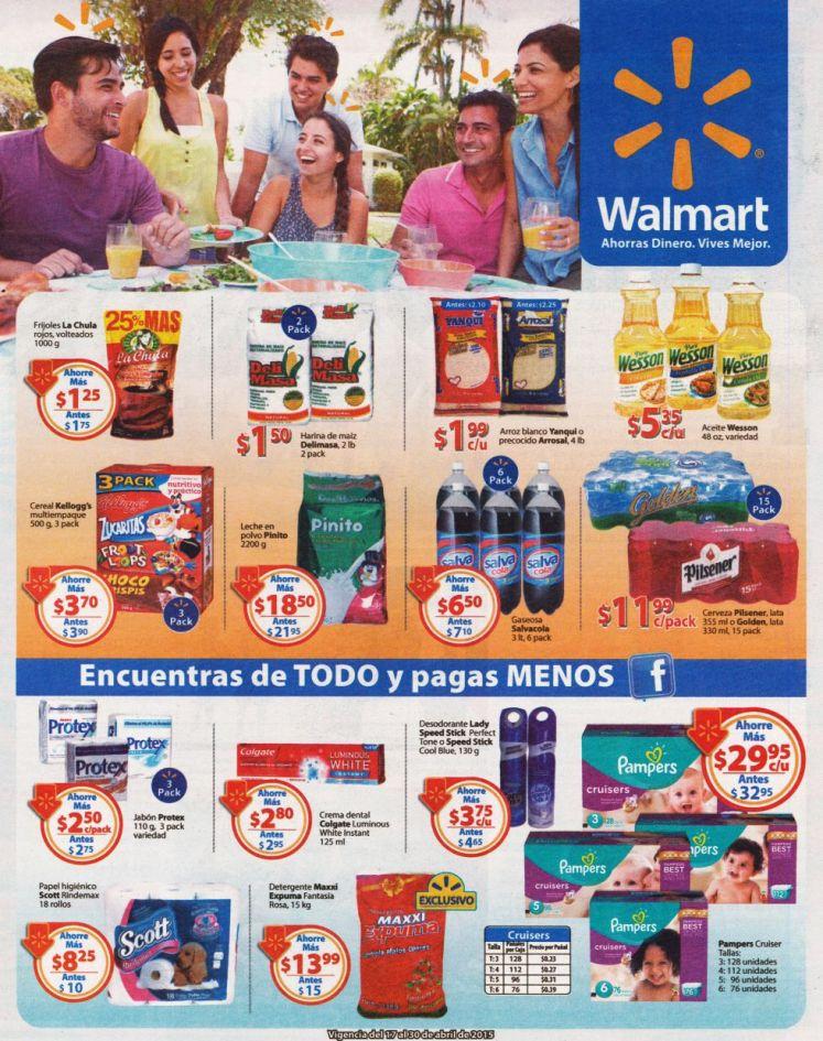 comprar de TODO y pagar menos solo aqui super WALMART - 17abr15