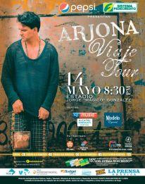 concierto ARJONA viaje tour 2015 elsalvador