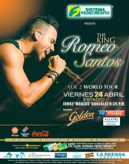 concierto ROMEO SANTOS the king