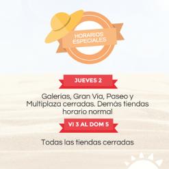 horarios especiales en la curacao semana santa 2015