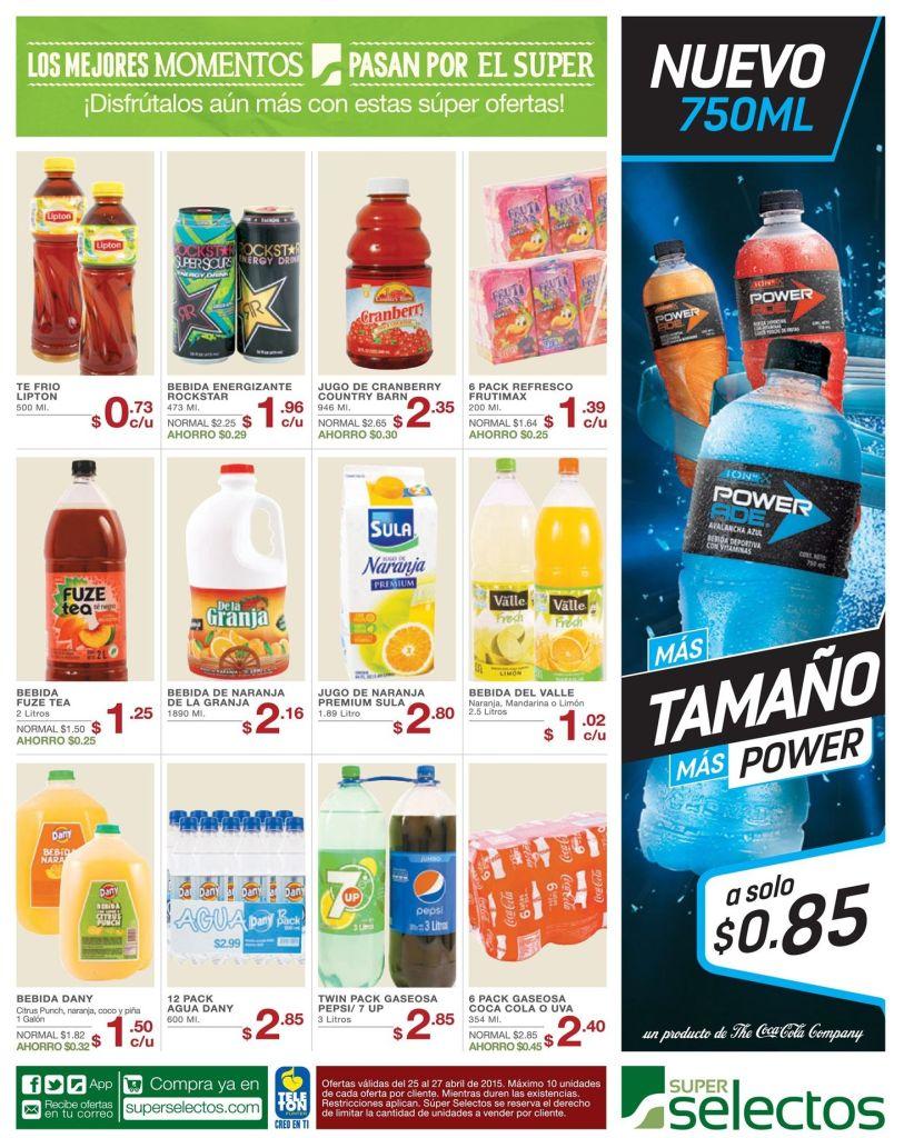 new POWER ADE bebida hidratante y refrescante