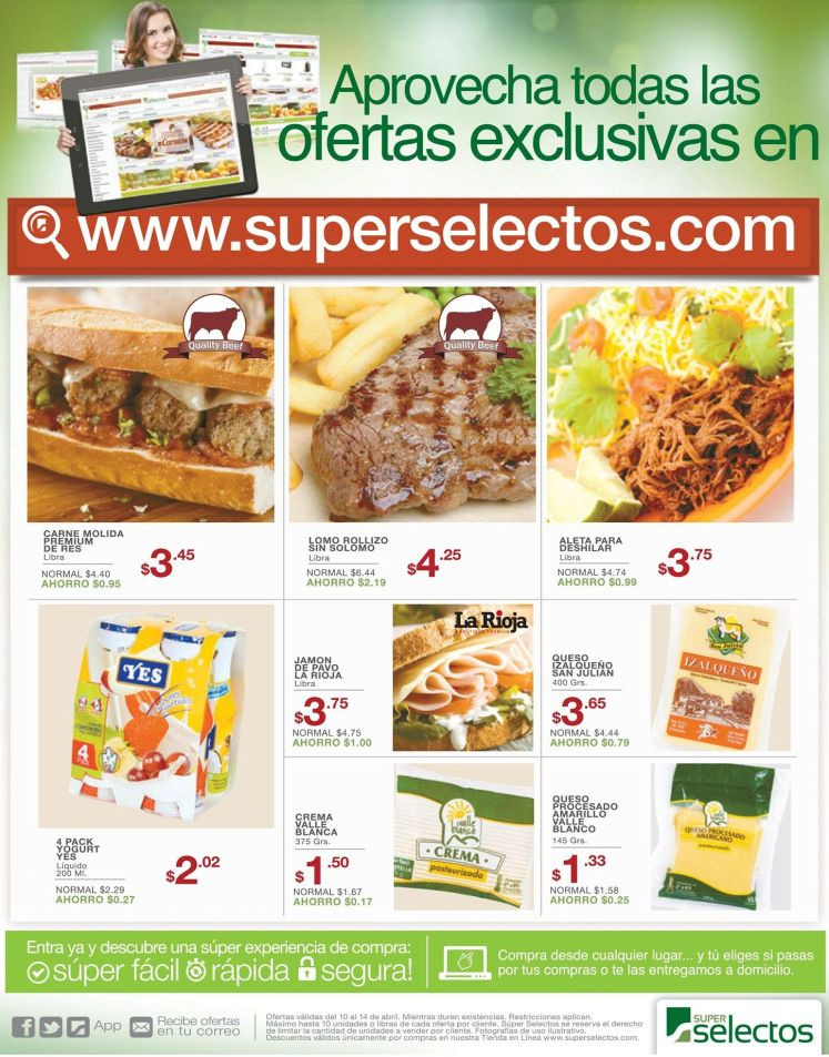 online shopping super selectos el salvador ahora viernes - 10abr15