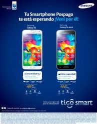 promociones TIGO en smartphones prepago para esta semana - 06abr15