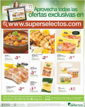 super selectos Time to shop ONLINE exclusive offers - 24abr15