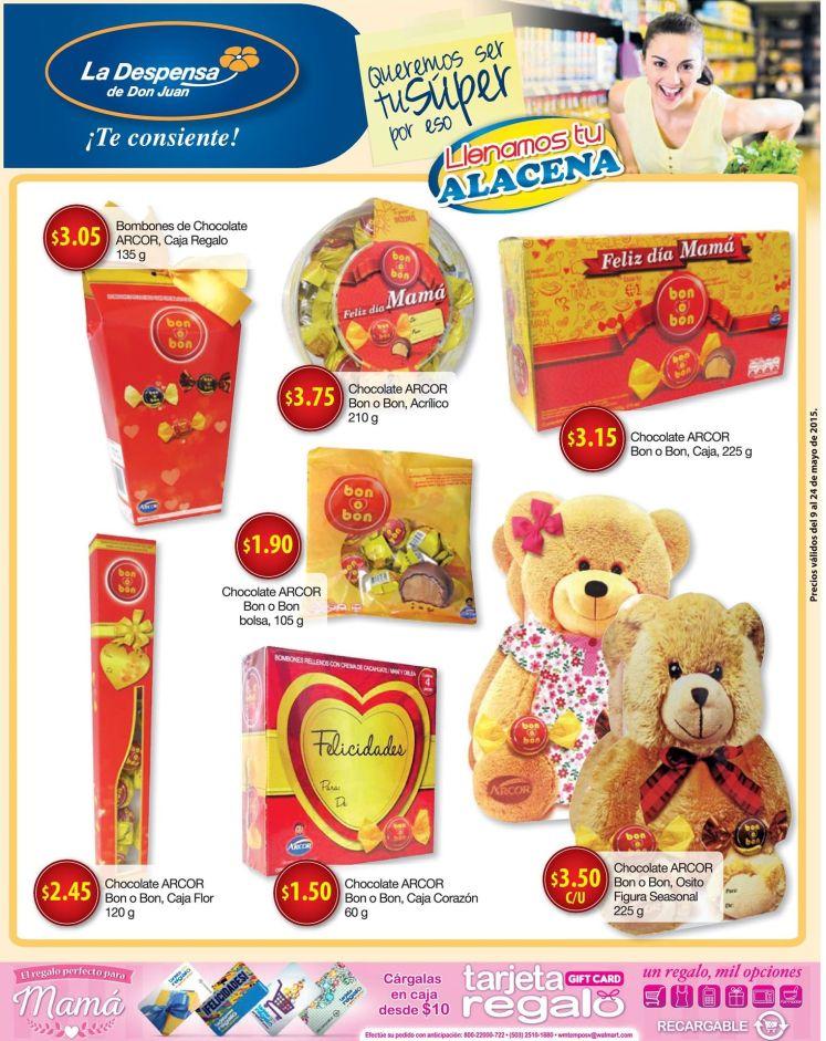 CHOCOLATES para darle dulzura a mama ofertas DDj - 09may15