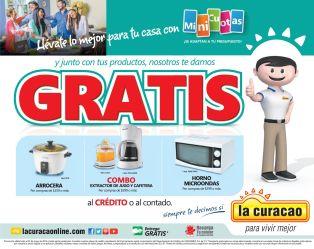 CURACAO el salvador promocion productos GRATIS - 20may15