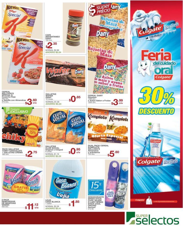 Descuento en productos de limpieza dental promociones super selectos - 02may15