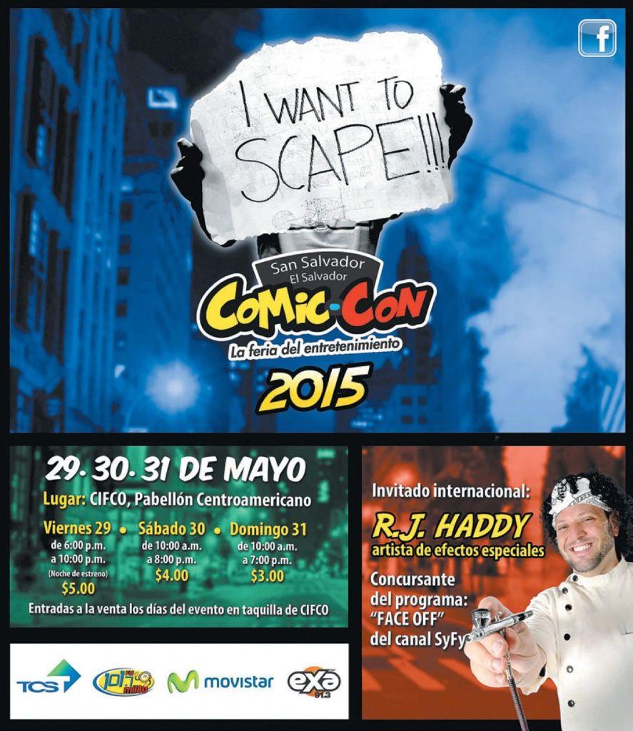 Entertaiment FEST Comic-Con elsalvador 2015