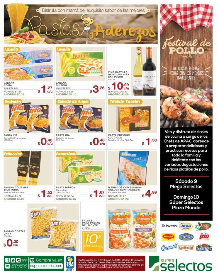 Festival de pollo en super selectos - 08may15