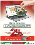 Haz tus compras online del super con 25 OFF de descuento - 15may15