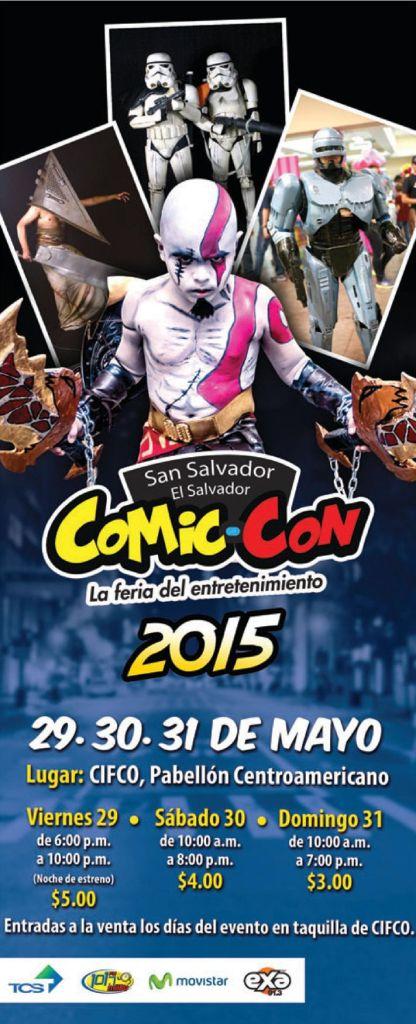 La feria del entretenimiento COMIC-CON 2015