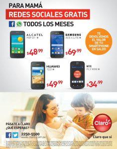 MAMA online redes sociales GRATIS con CLARO - 05may15