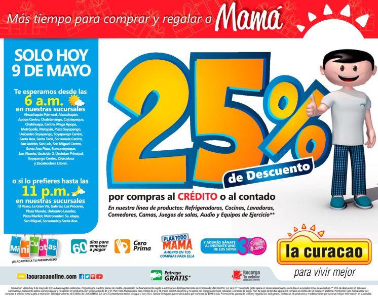 MAdrugon de ofertas para mama en la curacao - 09may15