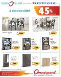 Muebles hasta con 45 off en tiendas omnisport - 09may15