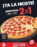 PIZZA HUT promocion 2x1 en pizzas martes y jueves - 12may15