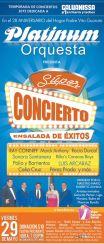Super concierto ensalada de exitos PLATINUM el salvador 2015