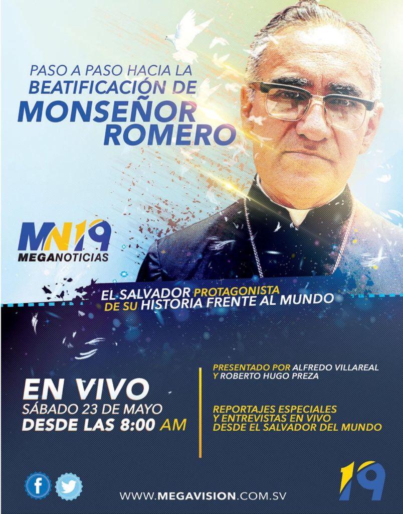 Transmision en VIVO Beatificacion Monsenor Romero TV signal stream
