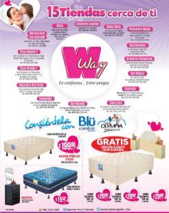WAY promociones en camas para regalar a las madres - 06may15